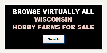 WI Hobby Farms For Sale